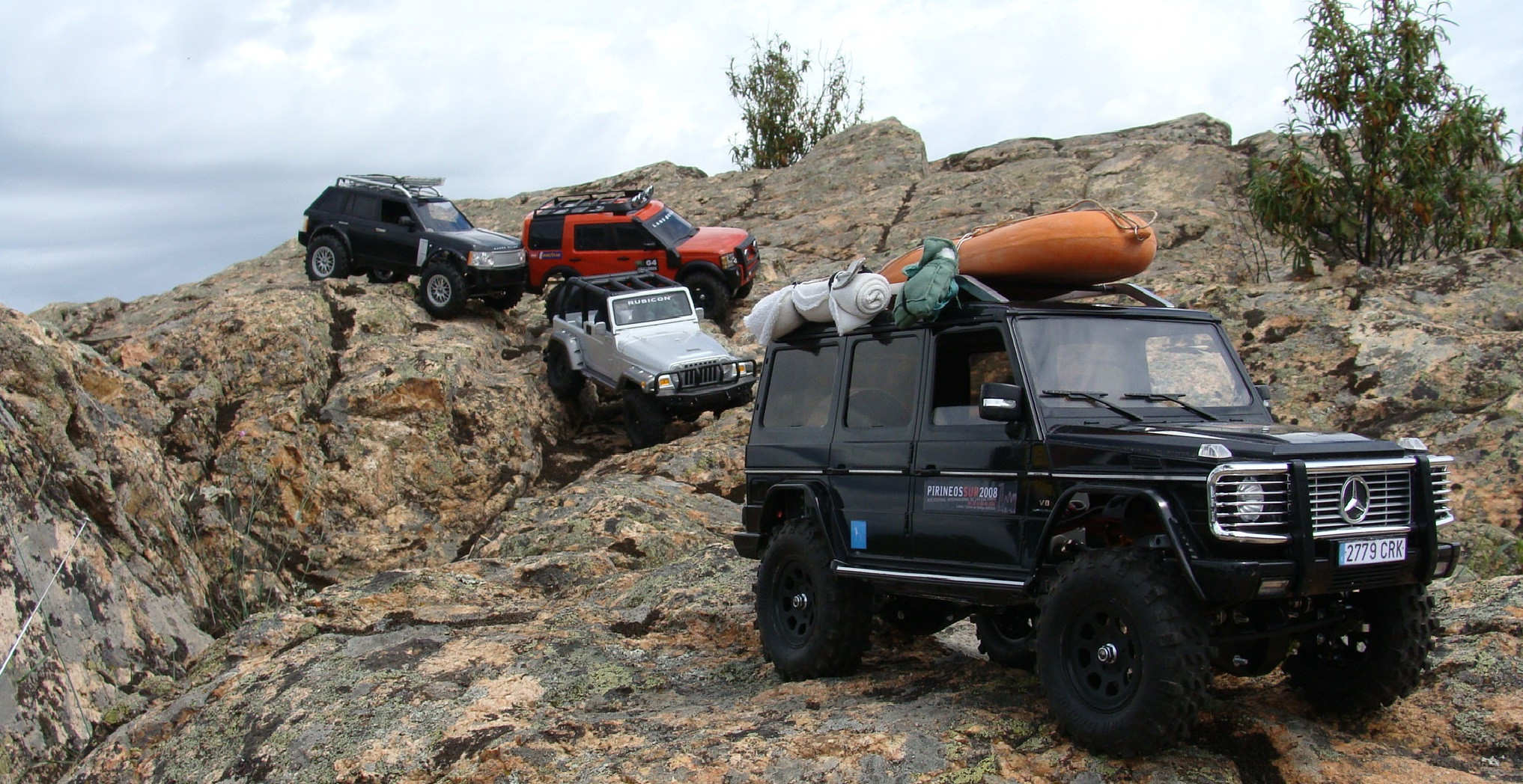 Scale crawling